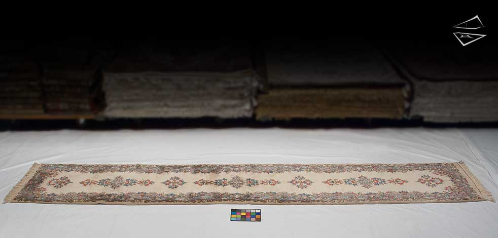 3x16 Persian Kerman Rug Runner