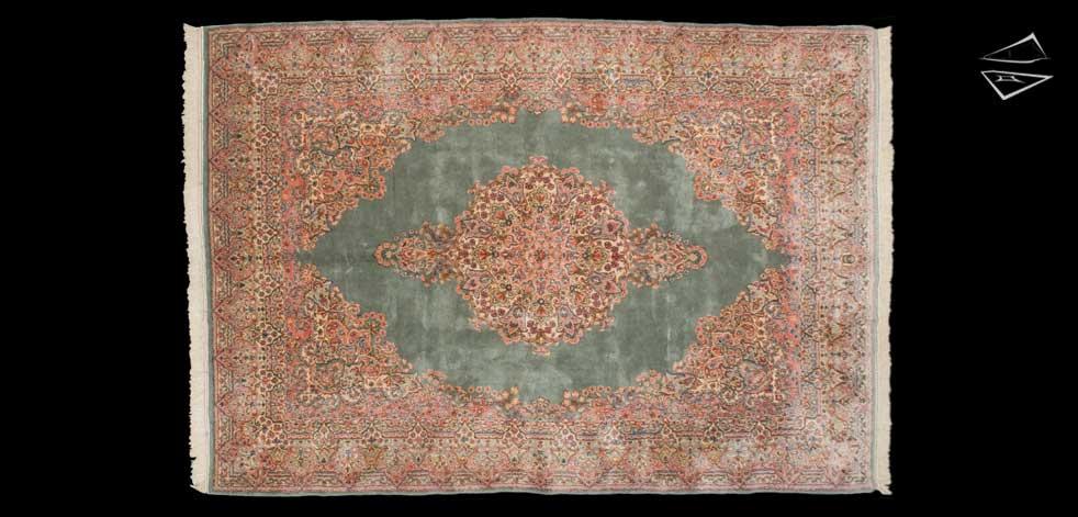 7x10 Persian Kerman Rug