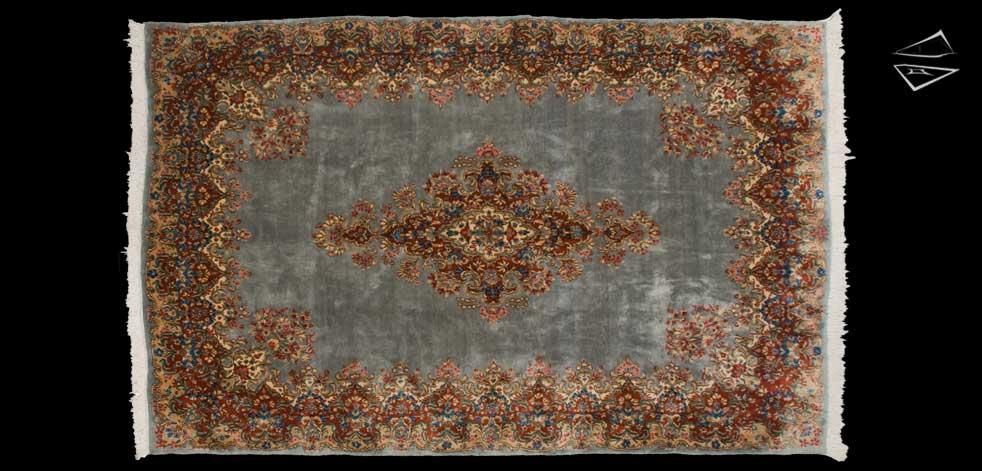 7x11 Persian Kerman Rug