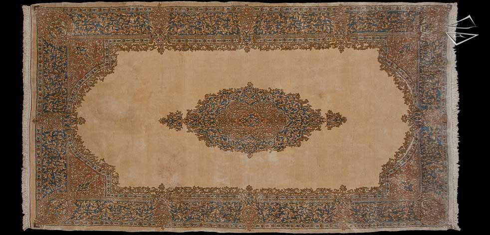 7x13 Persian Kerman Rug
