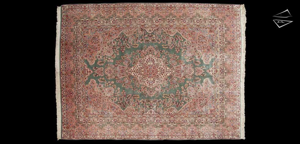 9x12 Persian Kerman Rug