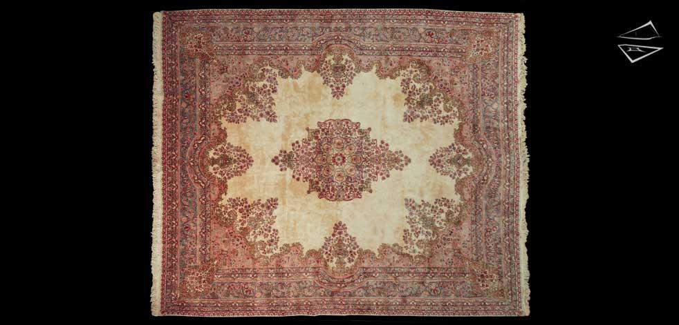 11x13 Persian Kerman Rug