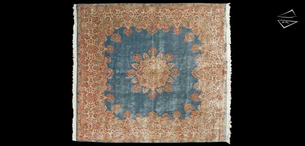 12x13 Persian Kerman Rug