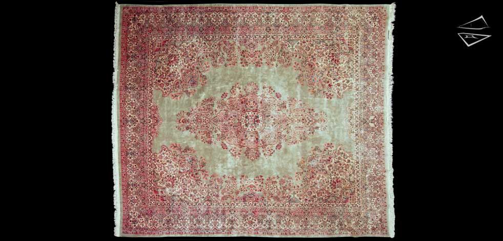 13x15 Persian Kerman Rug