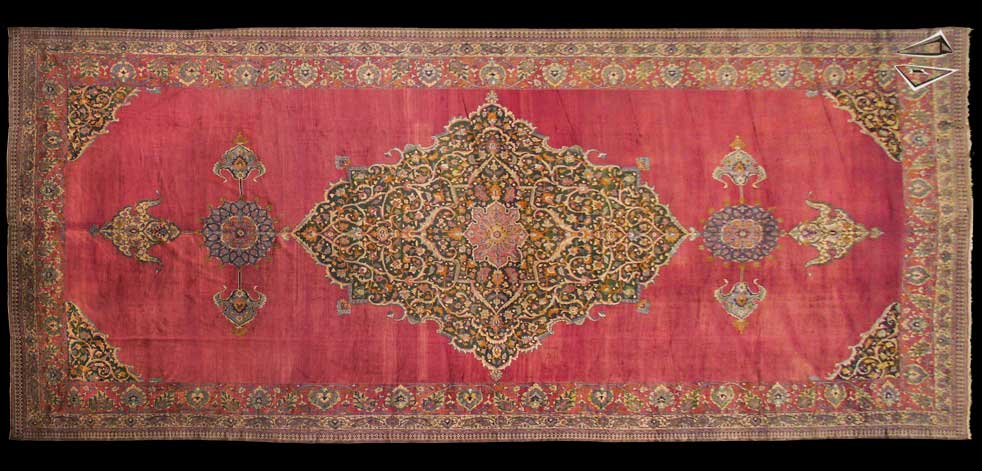19x44 Persian Khorassan Rug