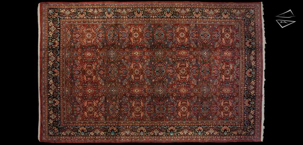 12x19 Persian Mahal Rug