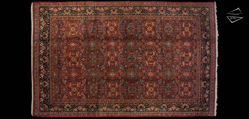 12x19 Persian Mahal Rug