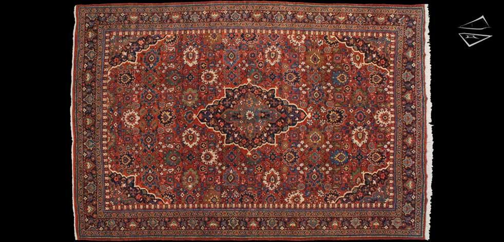 8x12 Persian Mahal Rug
