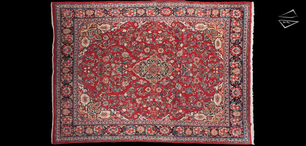 10x14 Persian Mahalati Rug