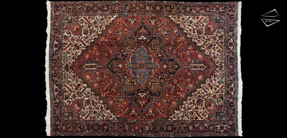 10x14 Persian Mehrivan Rug
