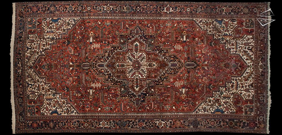 11x21 Persian Mehrivan Rug