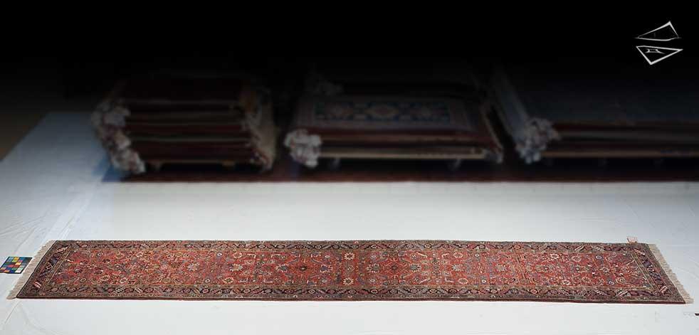 3x18 Persian Mehrivan Rug Runner