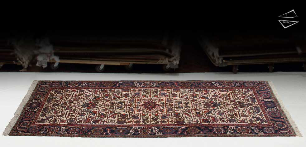 6x13 Persian Mehrivan Rug Runner