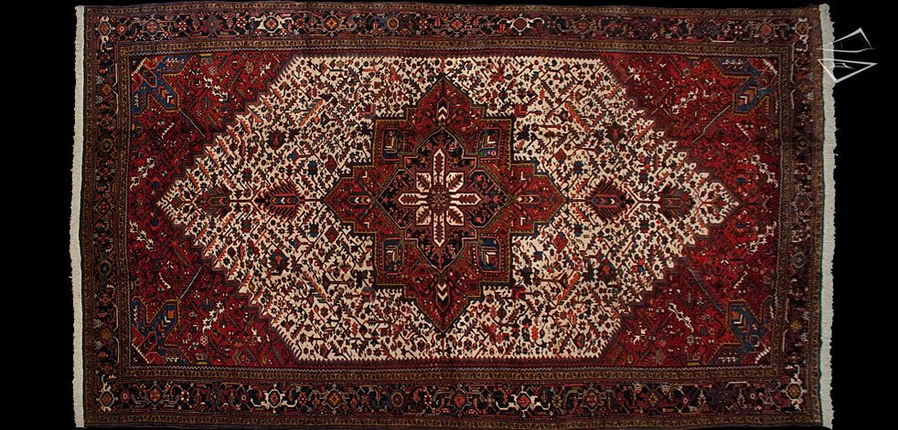 12x21 Persian Mehrivan Heriz Rug