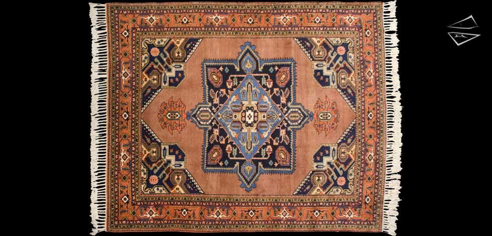10x12 Persian Meshkin Square Rug