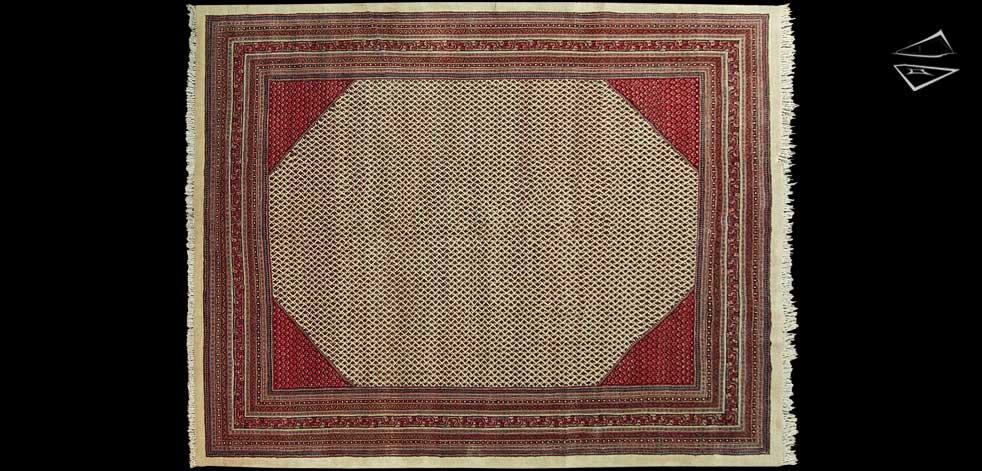 11x14 Persian Mir Sarouk Rug