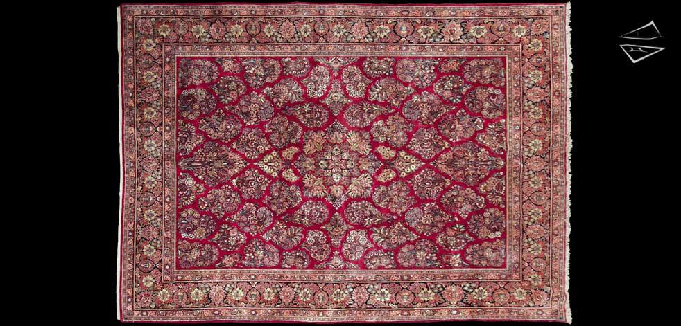 10x14 Persian Sarouk Rug