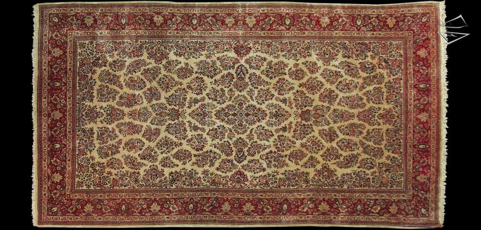 10x18 Persian Sarouk Rug