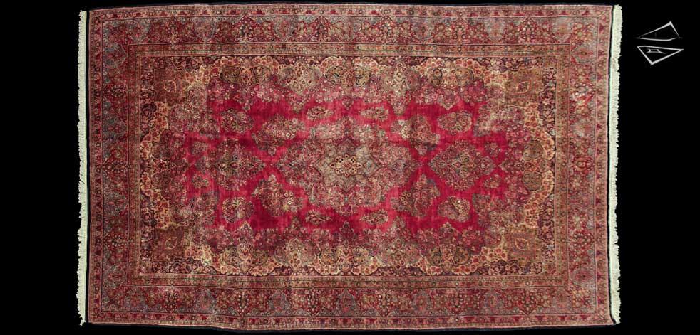 11x18 Persian Sarouk Rug