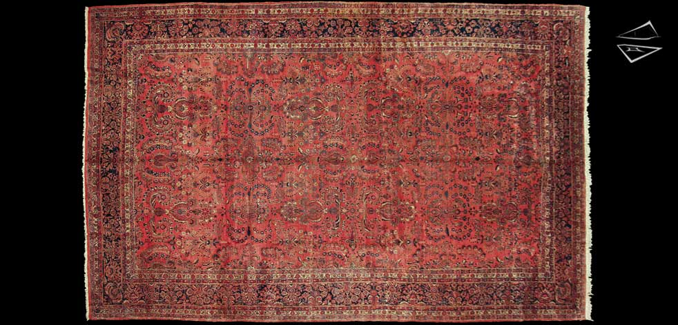 12x19 Persian Sarouk Rug