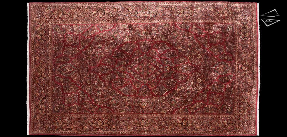14x24 Persian Sarouk Rug