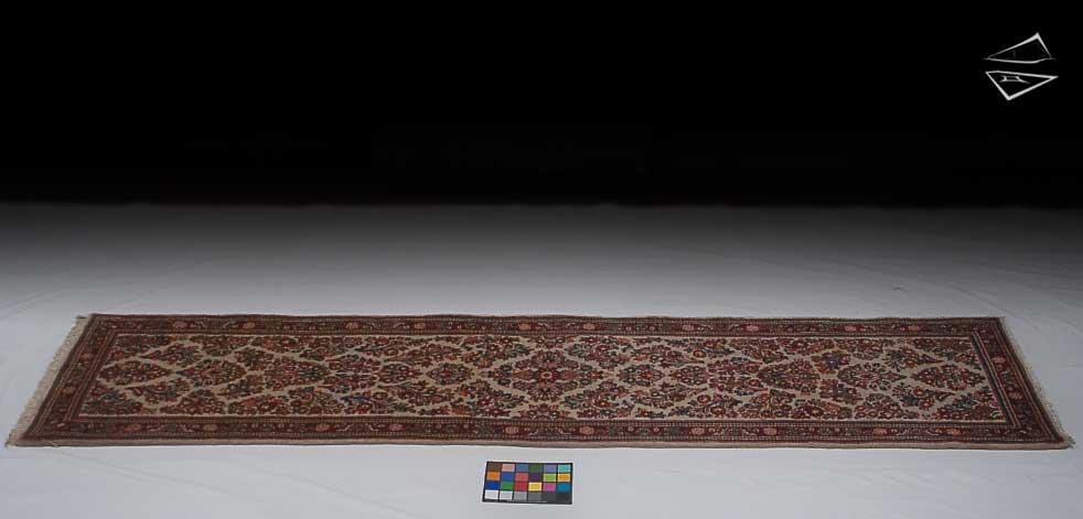 3x12 Persian Sarouk Rug Runner