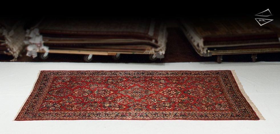 5x11 Persian Sarouk Rug Runner