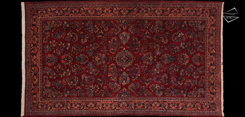 7x12 Persian Sarouk Rug