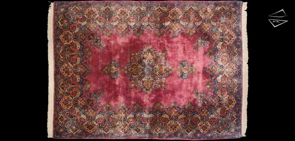 8x11 Persian Cyrus Crown® Sarouk Rug