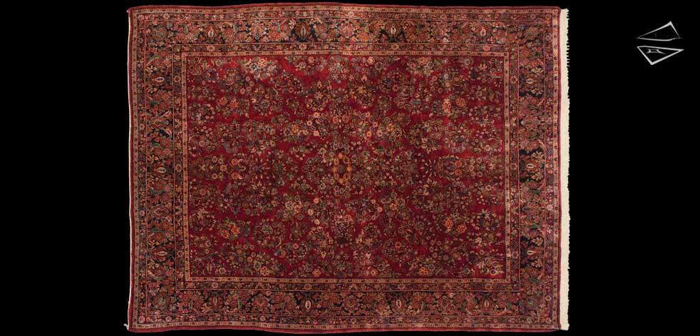 8x12 Persian Sarouk Rug