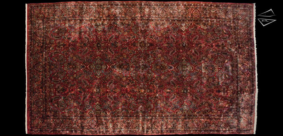 12x21 Persian Sarouk Rug