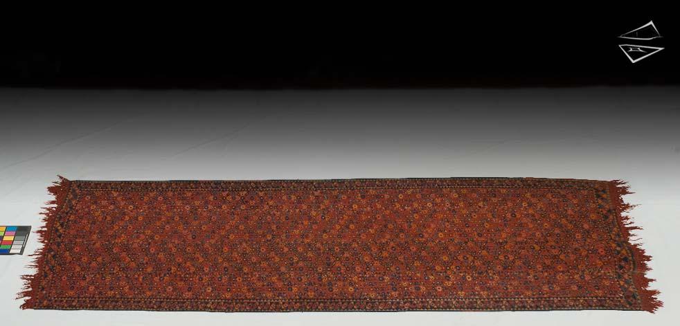 4x8 Persian Senna Flat Weave Rug Runner