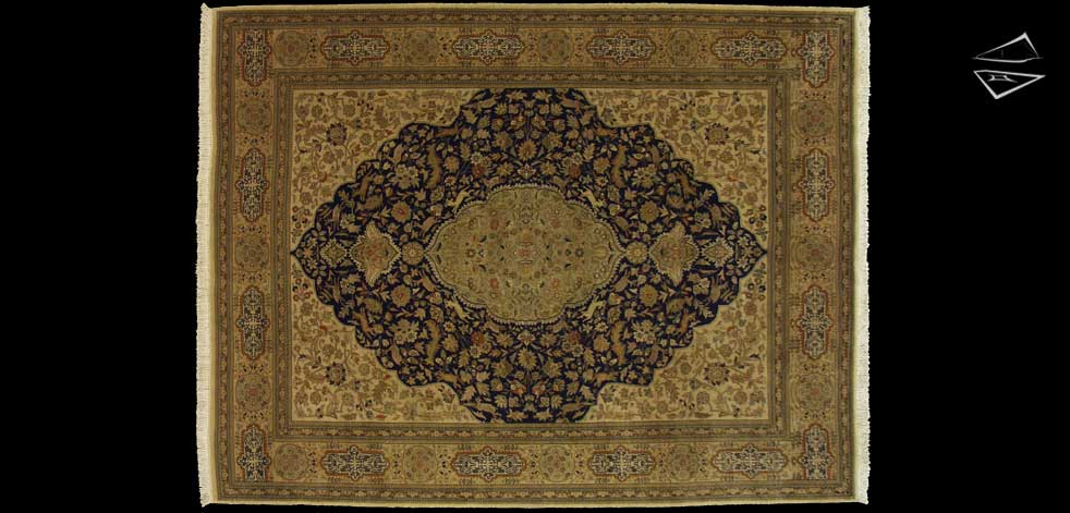 10x13 Persian Tabriz Rug
