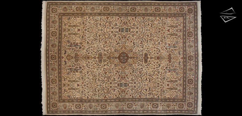 11x16 Persian Tabriz Rug