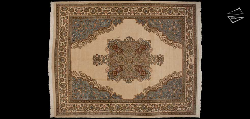 12x15 Persian Tabriz Rug