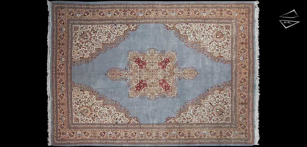 Persian Cyrus Crown 174 Tabriz Rug 12 X 17