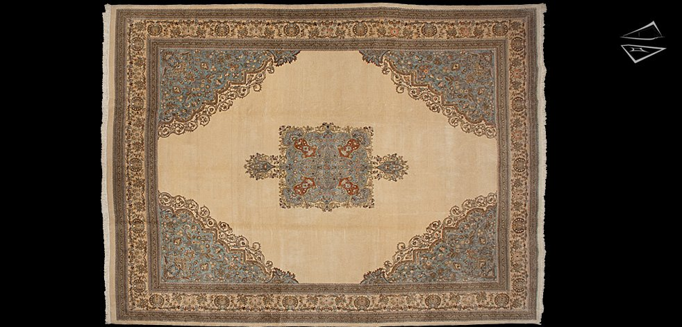12x17 Persian Tabriz Rug