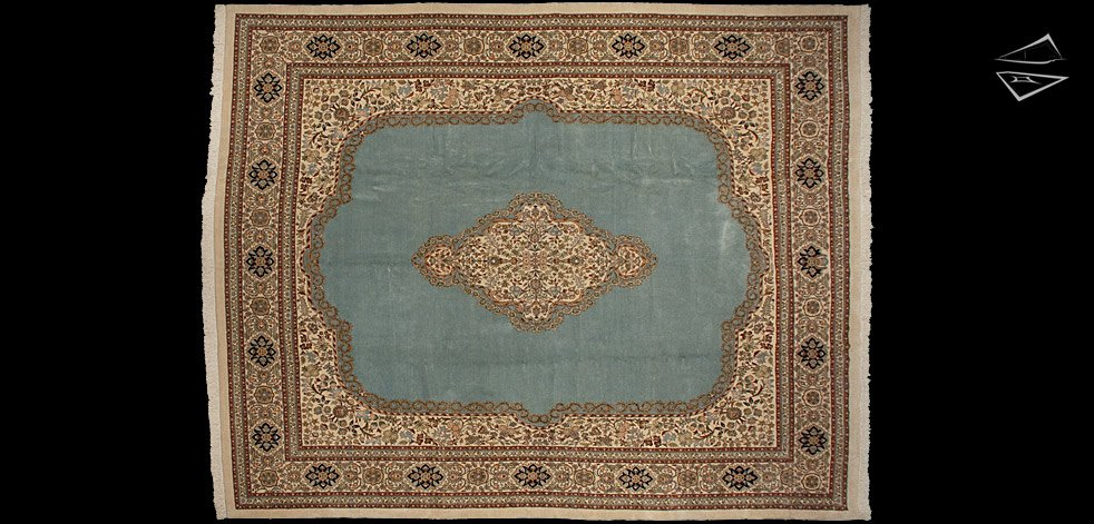 13x17 Persian Tabriz Rug