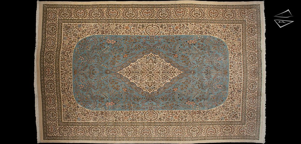 13x19 Persian Tabriz Rug