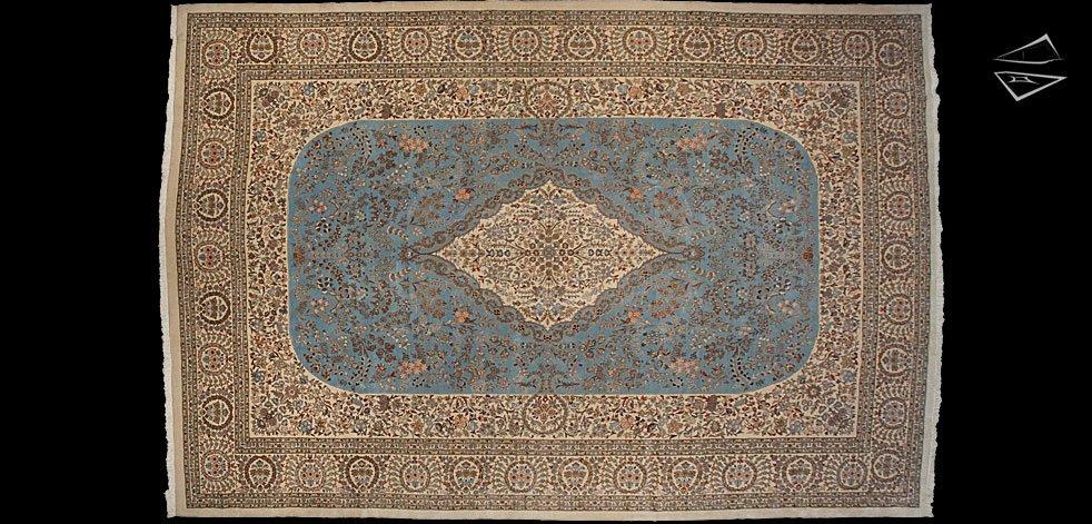 13x19 Persian Tabriz Rug