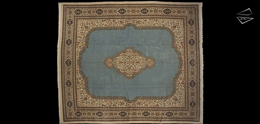 14x16 Persian Tabriz Square Rug