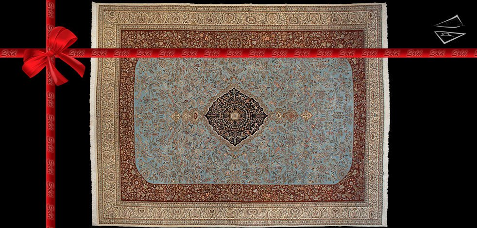 14x18 Persian Tabriz Rug