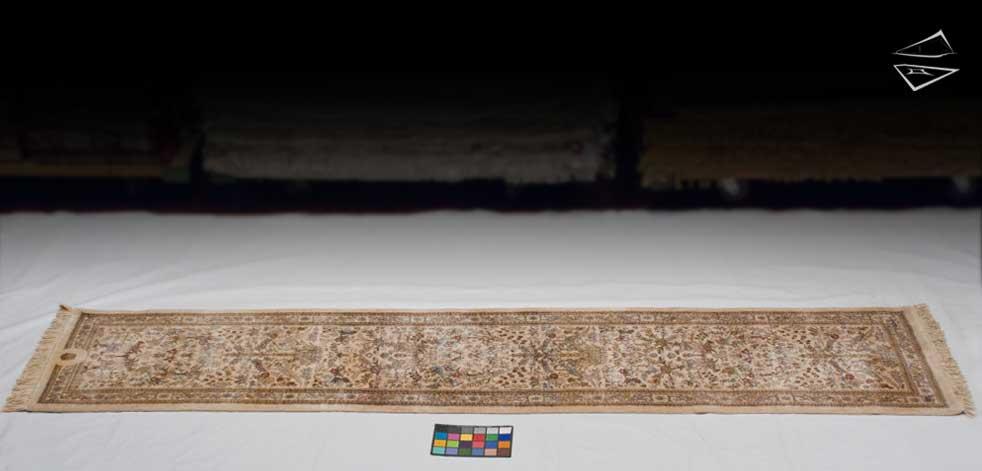 3x12 Persian Tabriz Rug Runner