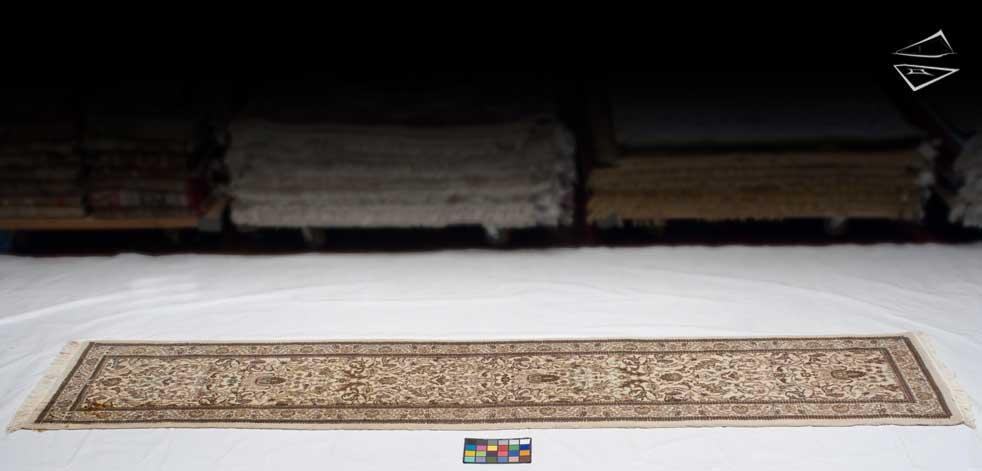 3x14 Persian Tabriz Rug Runner