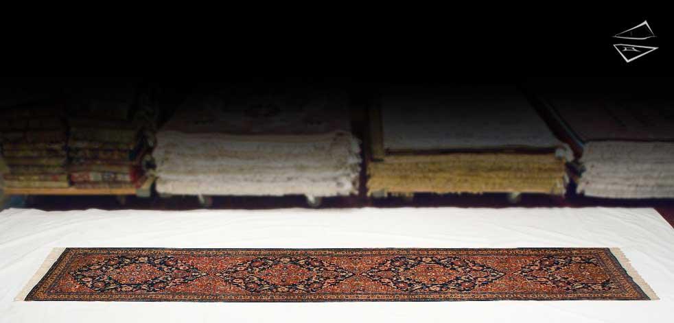 3x16 Persian Tabriz Rug Runner
