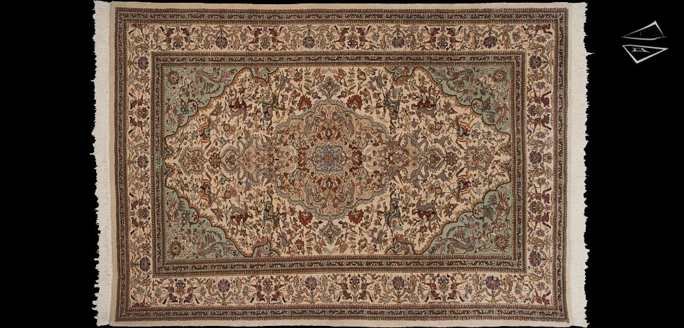 6x10 Persian Tabriz Rug