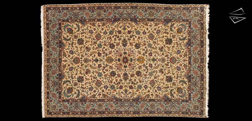 7x10 Persian Tabriz Rug