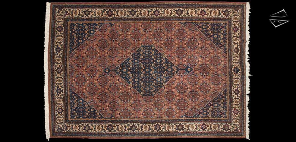 9x13 Persian Ardebil Rug