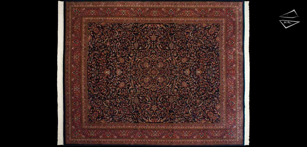 12x15 Sarouk Design Rug