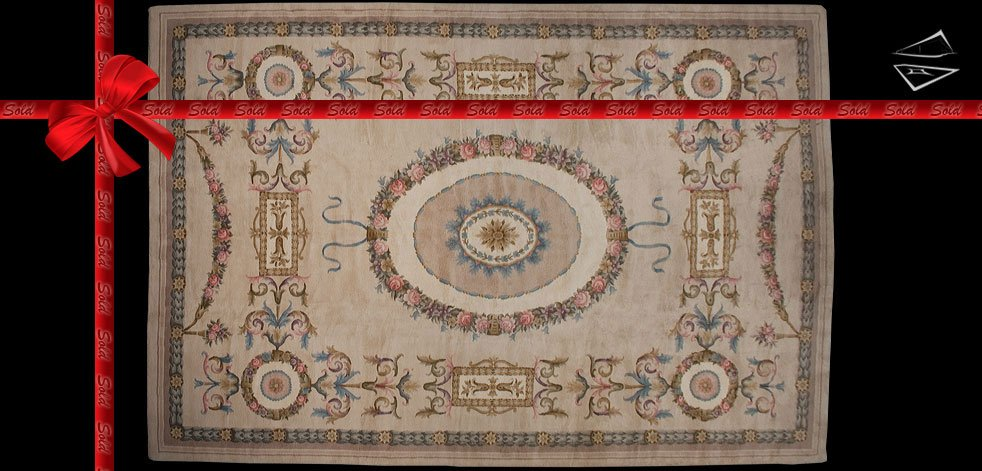 12x18 Savonnerie Design Rug